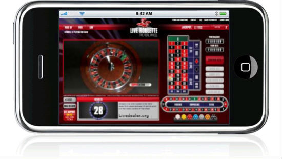 Live Roulette Added To Iphone Appstore Livedealer Org