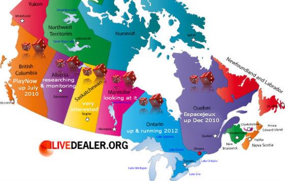 Canada online casino debate