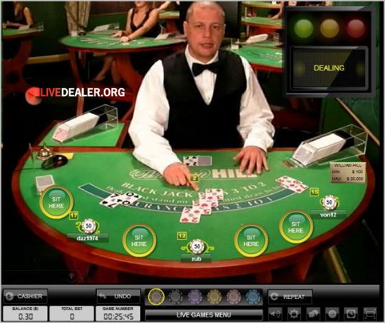 Winstar Blackjack Dealer