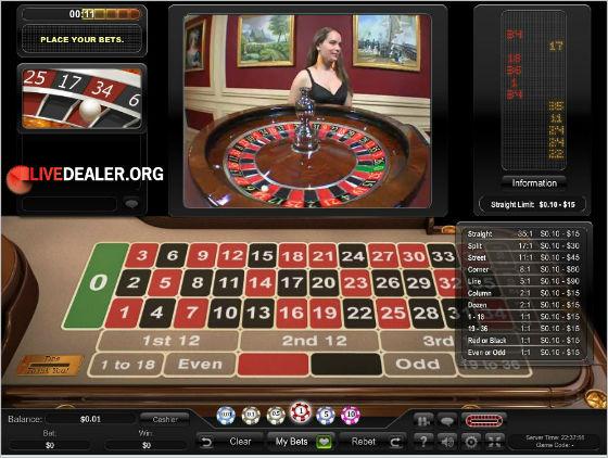 new VIP live roulette