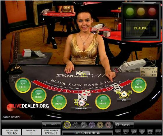 Dealer Ksenija at Paddy Power