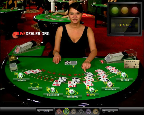 Live dealer Anastasija at Betsson