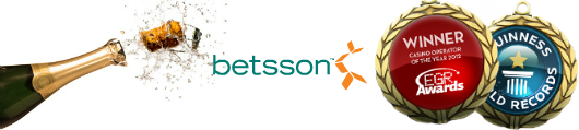 Betsson crowned EGR 'Casino of the Year'
