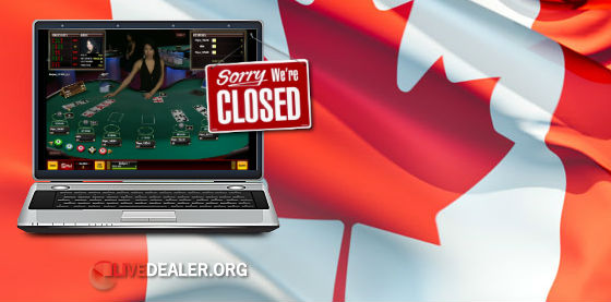 Canadians can't play Microgaming live dealers