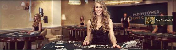 Paddy Power's new live casino