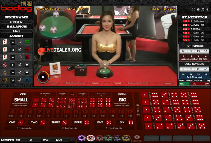 betfair live casino table limits
