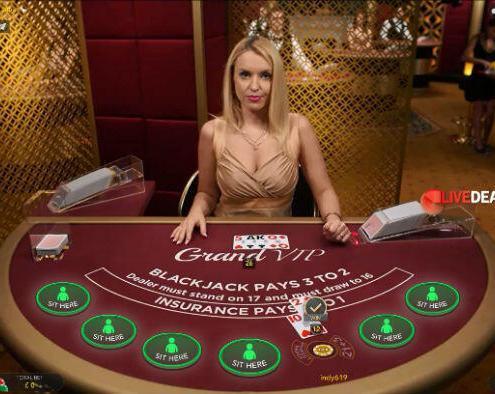 Evolution Gaming Grand VIP live blackjack