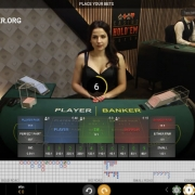 Playtech Live Baccarat