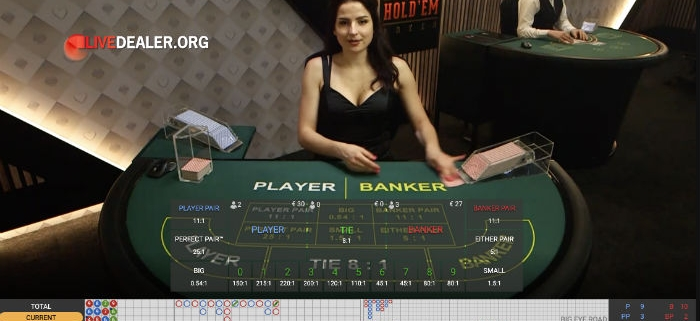 Playtech Live Baccarat