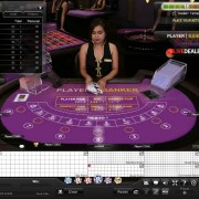 playtech live baccarat (Asia studio)
