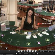 Playtech (old) live dealer blackjack