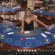 The old blue live blackjack