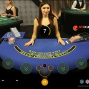 Playtech live dealer Lounge Blackjack