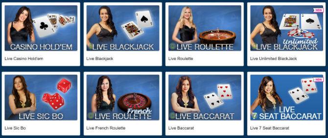 Europa Live Casino