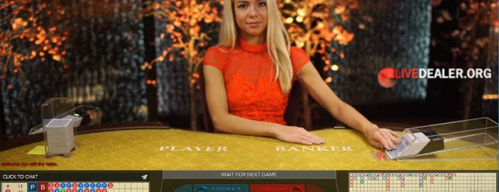 Evolution Gaming baccarat