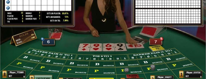 Microgaming live baccarat