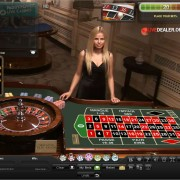 The old Playtech live French Roulette table