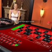 Evolution Gaming VIP Roulette table