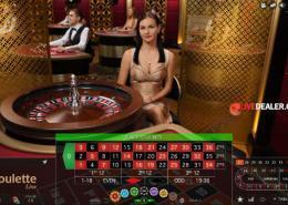 Evolution VIP live roulette