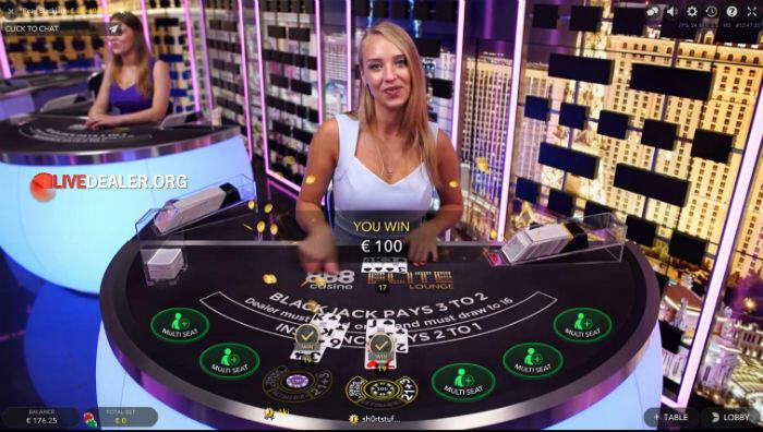 Evolution Gaming Live Blackjack Game Review Livedealer Org