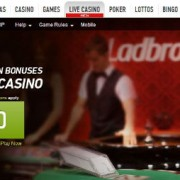 Ladbbrokes new live casino