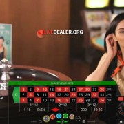 Private live roulette at 888