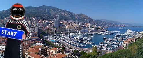 WIn Paddy's Monaco F1 trip