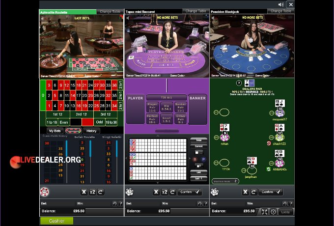 Playing Multiple Tables At Playtech And Evolution Livedealer