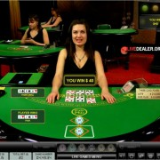 Live dealer 3 Card Poker