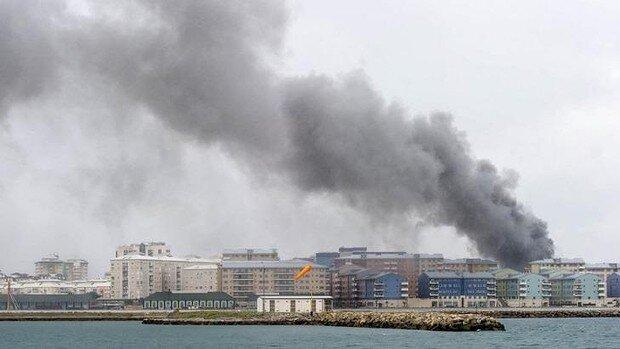 Gibraltar fire