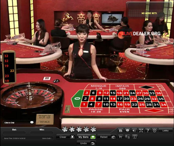 bet365's Emperor Room