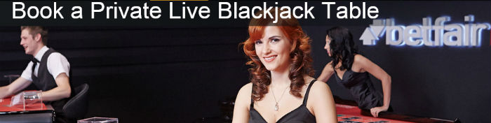 private blackjack table booking