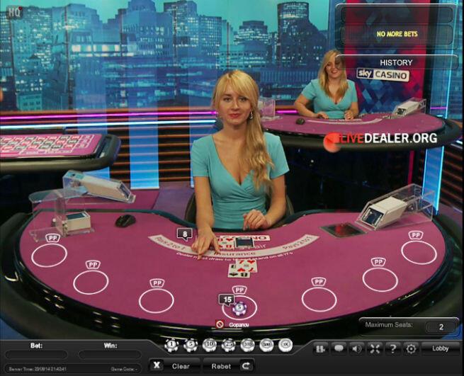 Sky live roulette