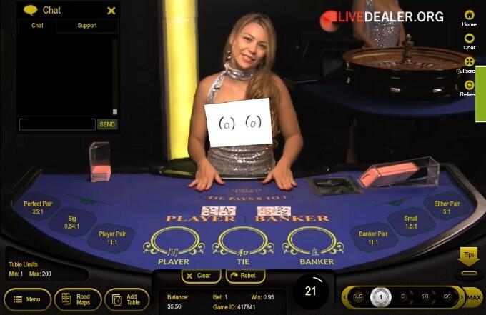 Live-Casino mit Live-Dealer