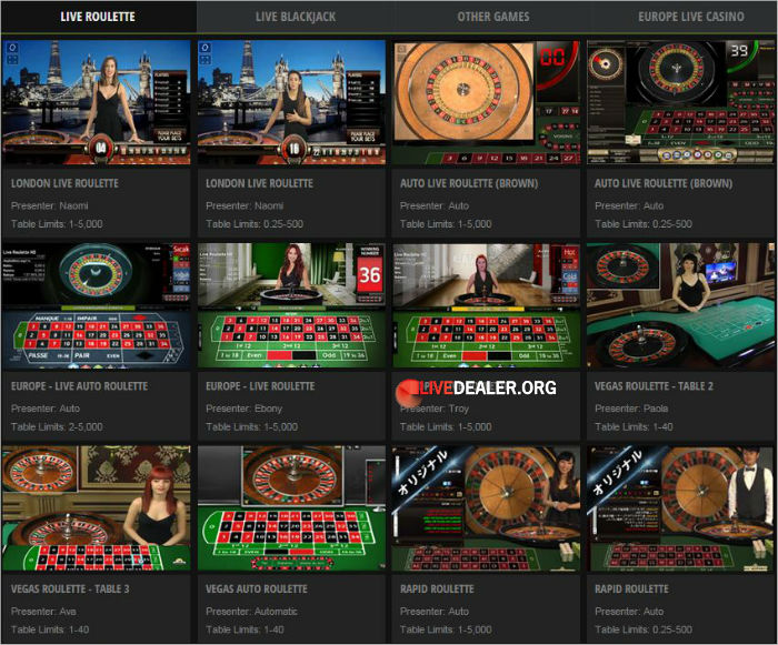 Real money top casino games online canada players