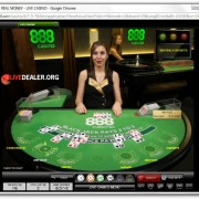 live blackjack at 888