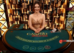Live Casino Hold'em Poker