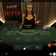 Playtech Casino Hold'em Poker