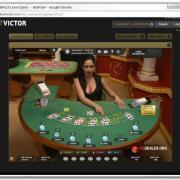 Victor's Live blackjack