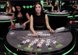Unibet live blackjack video