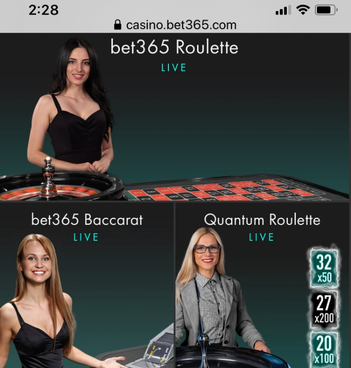 Bet365 Mobile Live