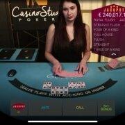 mobile playtech casino stud