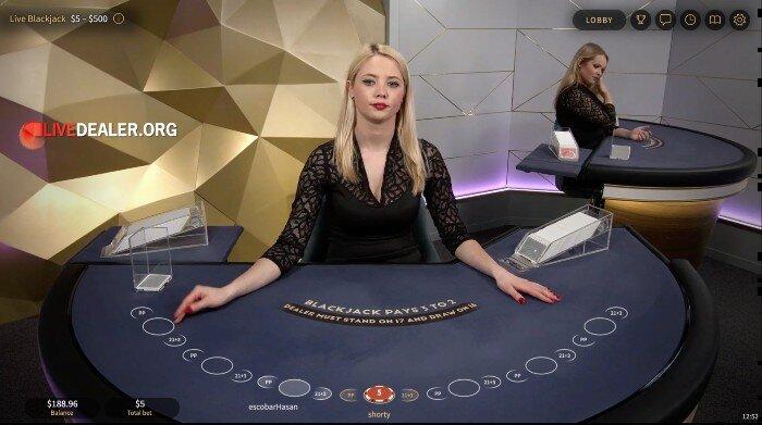 NetEnt Gold Blackjack