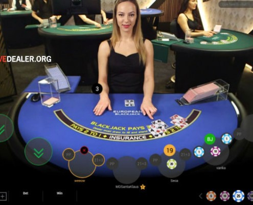 Playtech VIP live blackjack