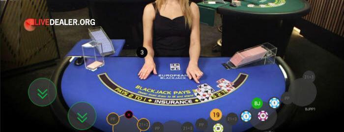 Playtech VIP live blackjack
