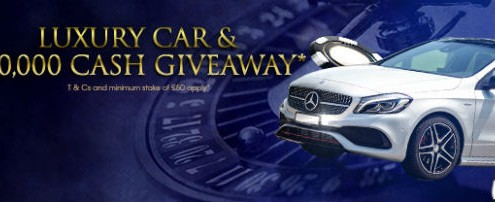 Win a Mercedes at William Hill