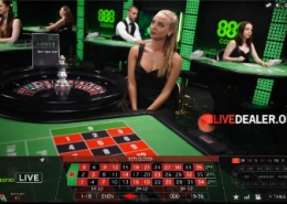 playing 888 live casino