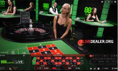 playing 888 live casino