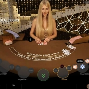 Royale blackjack with Karalina