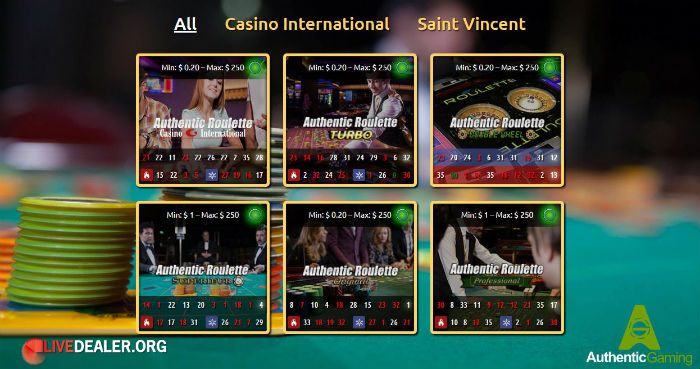 St Vincent's and Casino International